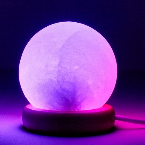 Salt Crystal Lamps Usb : SPHERE SALT LAMP (USB) Himalayan Salt Lamps Online Store