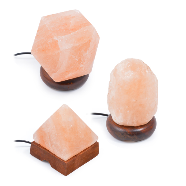 Himalayan Salt Lamps Usb : 3 in 1 USB SALT LAMPS PACK (ANY SHAPE) Himalayan Salt Lamps Online Store